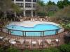 Pool Deck by Cedar Works Deck Builders